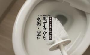 重曹でトイレ掃除!便器の汚れはクエン酸との使い分けがポイント!