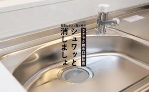 排水口掃除【簡単マニュアル】これでヌメリにサヨナラできる!