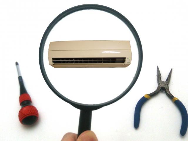 エアコンと工具