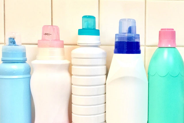 洗剤のボトル