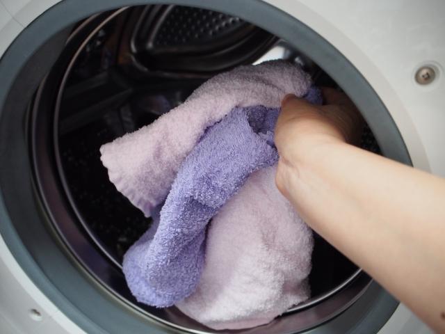洗濯物を取り出す・入れるところ