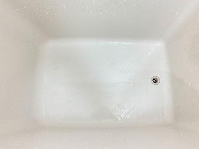 キレイになった浴槽
