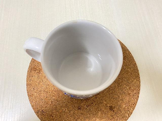 キレイになったカップ