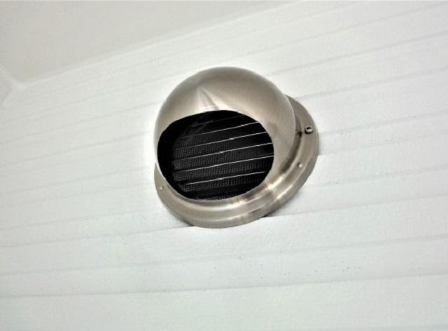 換気扇の排出口