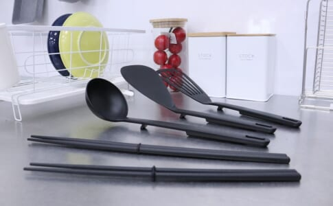 衛生的な便利アイテム!「先がつかない調理用品シリーズ」に新しいラインナップが登場!